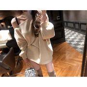 女性らしさ満点の魅力スタイルを  タートルネック オフショルダー スリム セーター ニットトップス