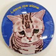 猫マグネット リブミーアローン Cat Leave me alone  猫イラスト Cat magnet