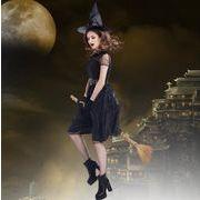 【ハロウィン】悪魔 魔女 M-3XL Halloween コスプレ衣装 ワンサイズ レディース コスチューム