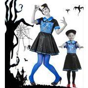 【ハロウィン】ゾンビ 女 ママと娘 Halloween コスプレ衣装 ワンサイズ レディース コスチューム