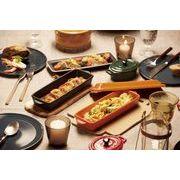キッチンデリ 蓋付きグリル皿 (陶器)