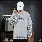 【大きいサイズM-5XL】ファッション/人気トップス♪ブラック/グレー2色展開◆