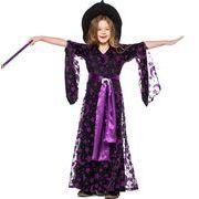 【ハロウィン】魔女 S-L  子供服 Halloween 仮装 コスプレ キッズ コスチューム