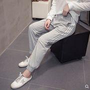 【大きいサイズL-4XL】ファッション/人気パンツ♪ブラック/グレー2色展開◆