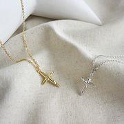 ネックレス シルバー925 sterling silver gold silvernecklace シルバー ゴールド 18k ◆メール便対応可◆