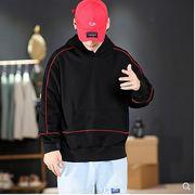 【大きいサイズM-5XL】ファッション/人気トップス♪ブラック/ライトグレー2色展開◆