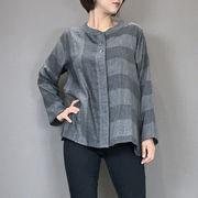【セール】 チェックブロッキングシャツジャケット  【2019AW VOL:1】