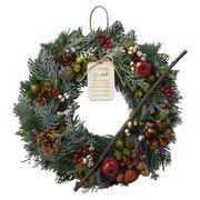 KEI:クリスマスナチュラルリース