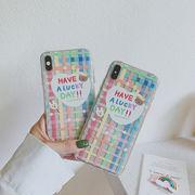 iphonexs ケース 虹 ウサギ スマホケース 熊 iphone ケース