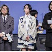 YUNOHAMI韓国風 ニットセット 字母柄 長袖 カーディガン+ニットスカート スター同款 高品質で 秋冬即納