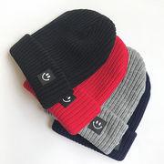 秋冬新作★可愛い★キッズ帽子★厚手★ニット帽子★暖かい★毛糸帽子★4色