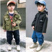 キッズジャケット  秋 普段着 長袖 子供コート 日常用 男の子