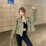 ツーリング ジャケット 長袖 ウインドブレーカージャケット 女性服 秋服 韓国風 新しい