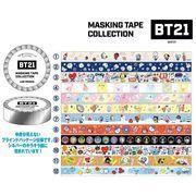 BT21マスキングテープコレクション