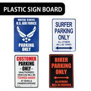 【実用性◎】AMERICAN プラスティックサインボード【駐車場スペース他】