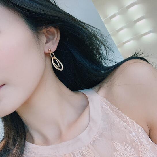 2019新作 ピアス アクセサリー ビンテージ S925 不規則 気質 韓国