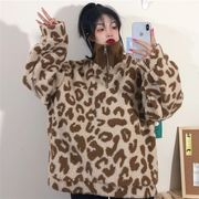 第1 番 ピープル ホーム 秋冬 女性 セーター 新しいデザイン 韓国風 ルース ヒョウ