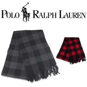 RALPH LAUREN RV BUFFALO CHECK SCARF  18122