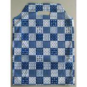 【特価品】マウントバッグ ミックスパターン (白×紺) SS~Mサイズ