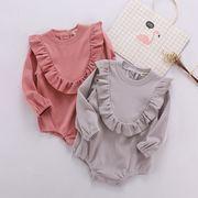 秋★♪キッズファッション★♪連体服★♪長袖の★♪可愛い★ベビー服★♪♪♪