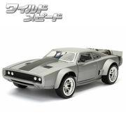 JADATOYS 1:24ワイルドスピードダイキャストカー DOM'S ICE CHARGER