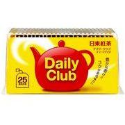 日東紅茶 デイリークラブ ティーバッグ 25袋 x15 *