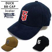 帽子 キャップ メンズ ベースボールキャップ ダック DUCK ワッペン ロゴ PENNANTBANNERS