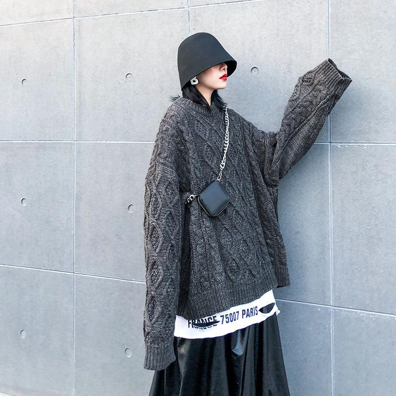 ジャケット ニット ラウンドネック セーター 2019秋冬新作 ファッション u15647 レディース
