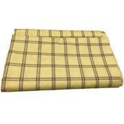 3mカット寝具用生地日本製チェックプリント 綿70%ポリエステル30%(160cm幅 x 3m)