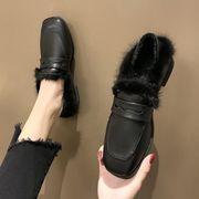小さな靴 女 イングランド 女靴 新しいデザイン 秋 靴 何でも似合う フラット アンテ