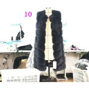 冬 欲しかったあの商品 模造毛皮カジュアル ファーベスト キツネの毛皮 百掛け 防寒 通勤 ロングベスト