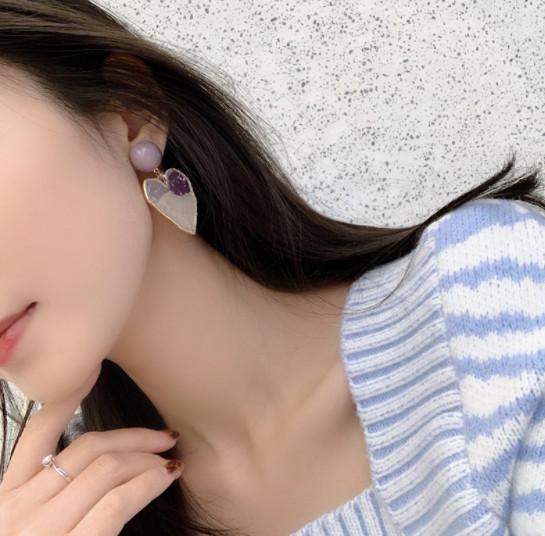 ピアス アクセサリー ビンテージ ハート 合金 新作 レディース 韓国 ファッション