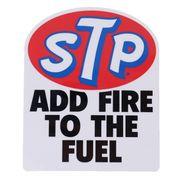 【ステッカー】STP 防水ステッカー ADD FIRE