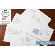 MATTI(マッティ)/ ポストカード