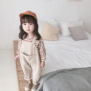 秋冬新発売★子供服★サロペット★吊りパンツ★キッズズボン★可愛い★