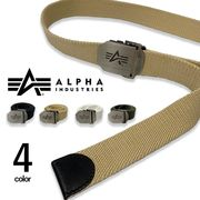 全4色 alpha industries アルファインダストリーズ ガチャベルト カラフル GIベルト