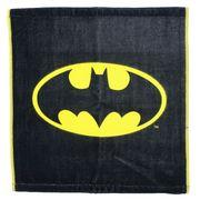 【ハンドタオル】BATMAN ウォッシュタオル バットマンロゴ