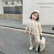 アウトレット 韓国子供服 男女兼用 2点セット 子供用 韓国ファッション トレーナー 80-130