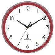 電波掛時計 カペラ Φ27cm レッド