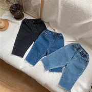 韓国子供服 男女兼用 キッズ アウター 子供用 トップス ズボン ズボン ジーンズ 80-130