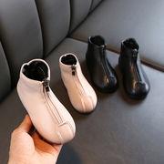 女児 マーティンブーツ 年 新しいデザイン 冬 王女 小 ブーツ 裏起毛 西洋風 冬バー