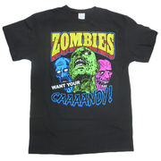 T シャツ ZOMBI WANT YOUR CANDY !