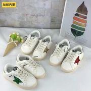女児 靴 秋 新しいデザイン 少女 靴 二 コットン靴 秋と冬 児童 裏起毛 スポーツシ