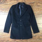 秋冬 新しいデザイン 男  コート 中長スタイル ウールコート 男 秋 韓国風 着やせ