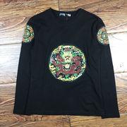 春服 新しいデザイン シャツ 男 長袖 薄いスタイル 秋 洋服 韓国風 着やせ 中国 風