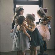 新作★子供服★女の子★夏★ チュールスカート★キャミソール★両用 ★80cm-120cm