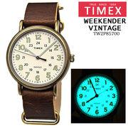 TIMEX Weekender Vintage TW2P85700  40mm メンズ  並行輸入品