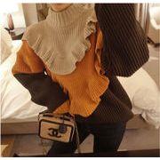 初秋も使える sweet系 ニット 暖かい 厚手  タートルネック 冬 新スタイル シンプル  百掛け 韓国 セーター