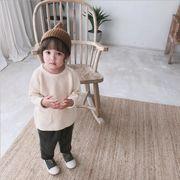 ニットセーター キッズ トップス 韓国子供服 厚手 カジュアル 男の子 女の子 長袖 2020新作 m14557