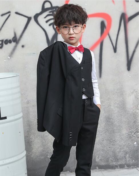2019秋新作男の子 スーツ 入園 卒業式 入学式 発表会 結婚式 七五三 スーツ 5点セット こどもスーツ